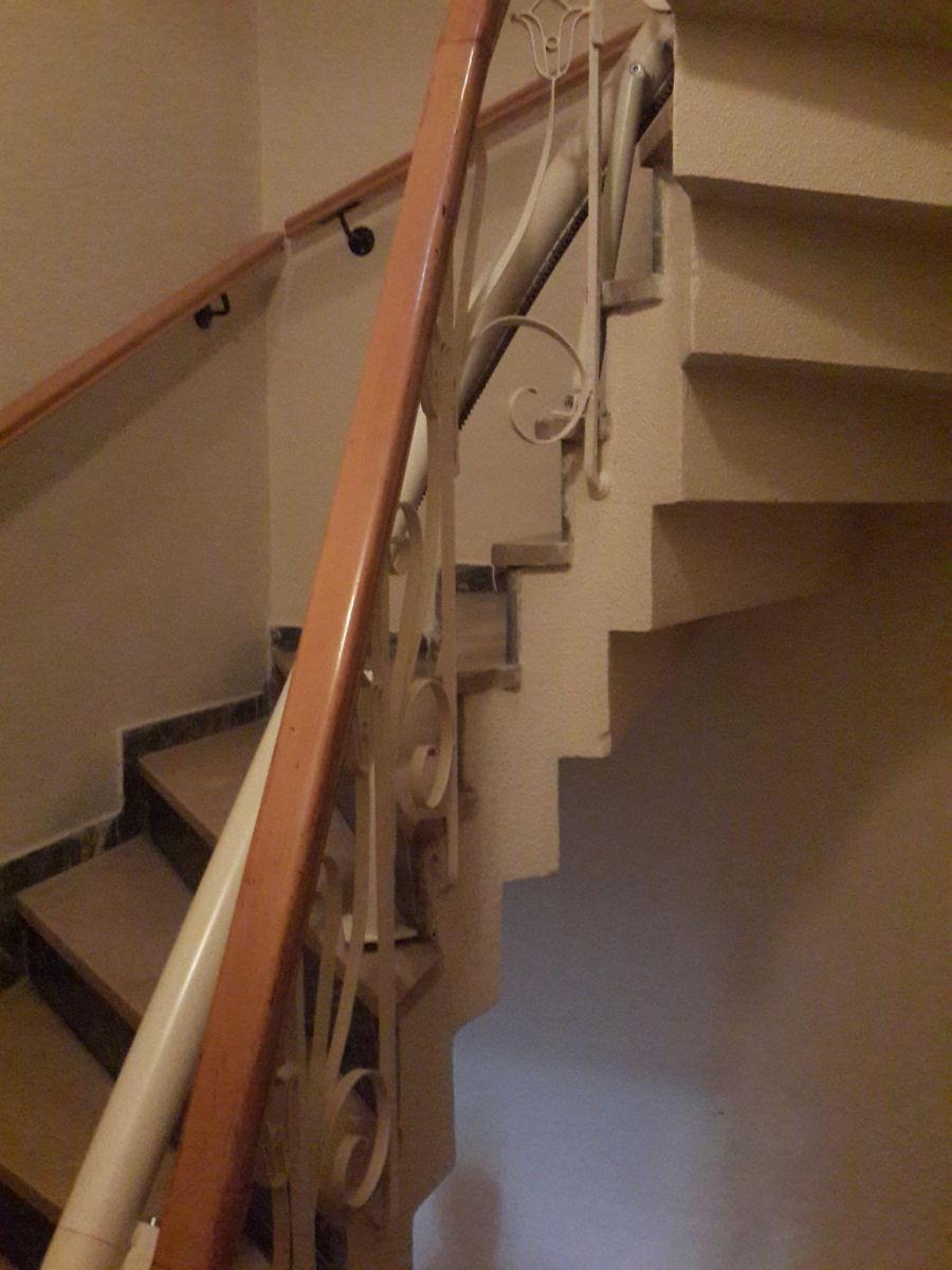 merdiven asansör rayı