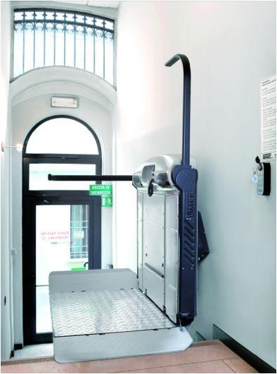 engelli merdiven asansörü