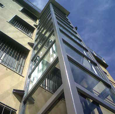 vimec panoramik ev asansörü