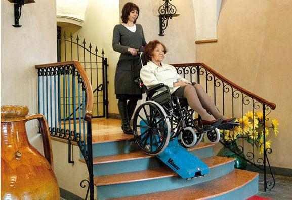 portatif merdiven çıkma