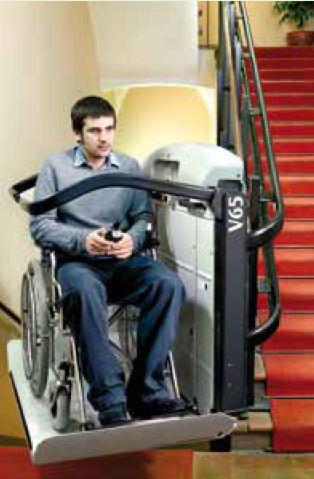 tekerlekli sandalye engelli asansörü