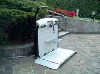 platform merdiven asansörü, tekerlekli sandalye asansörü