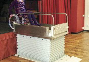 portatif platform asansör